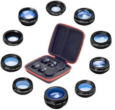10 in 1 Universal Phone Camera lens kit