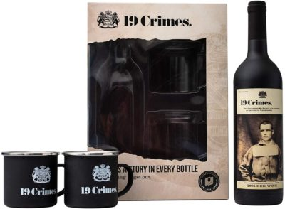 19 Crimes Red Wine Gift Set