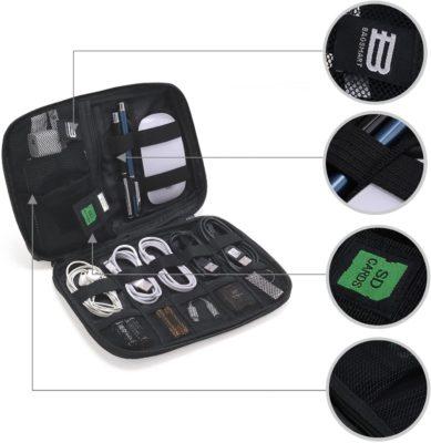Electronics Accessories Organiser Bag