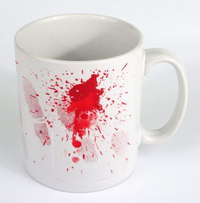 Forensic Evidence Scene of Crime Mug