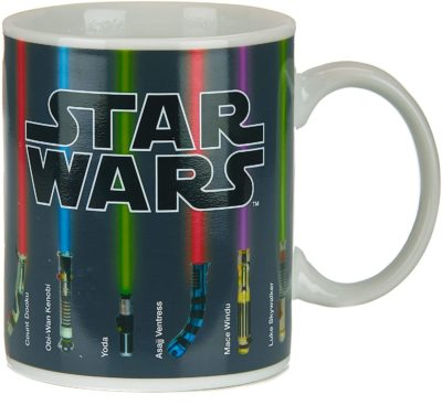 Star Wars Lightsaber Heat Change Coffee Mug