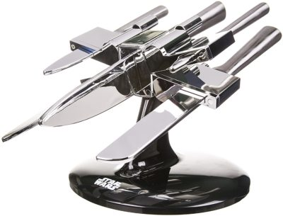 Star Wars X-Wing Silver 5 Knife Block Set