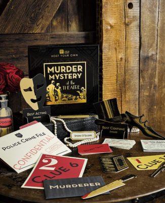 Talking Tables Reusable Murder Mystery Kit