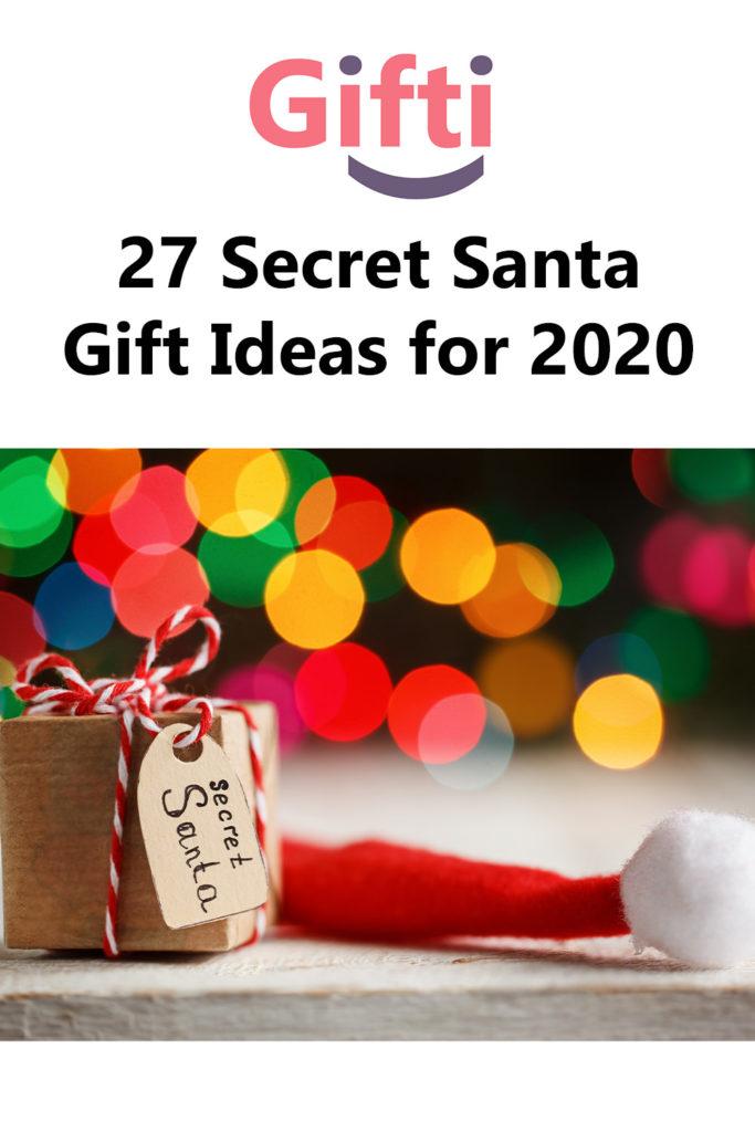 27 Secret Santa Gift Ideas for 2020