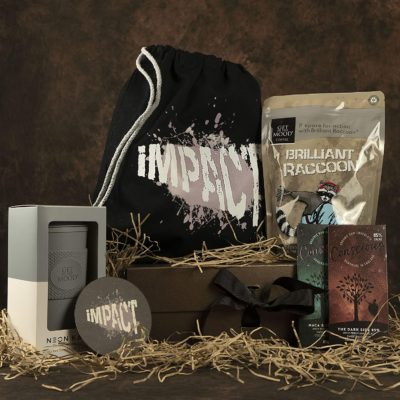 Brilliant Raccoon's Luxury Gourmet Coffee Gift Box