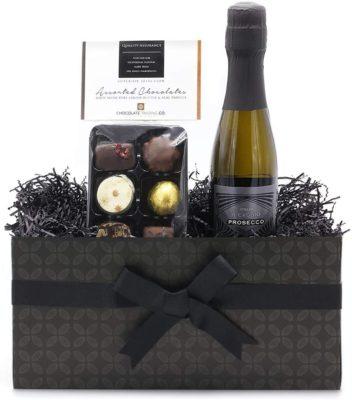 Chocolate and Prosecco Mini Gift Hamper