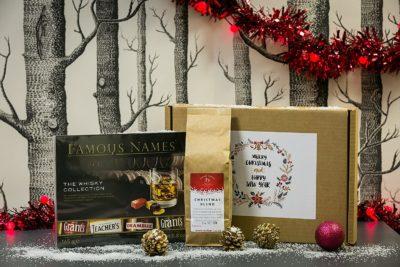 Christmas Coffee & Whisky Chocolates Gift Box