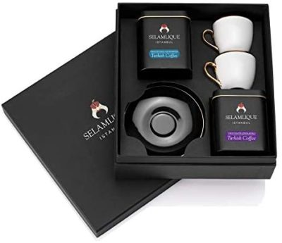Classic Turkish Coffee and Cups Gift Set