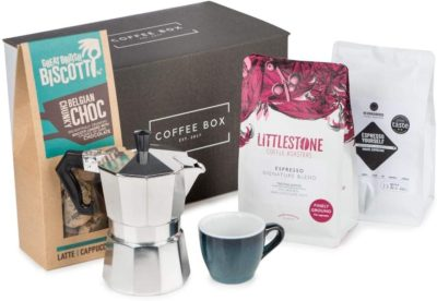 Coffee Box - Espresso Coffee Gift Set