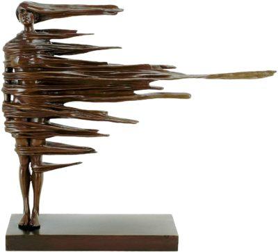 Contemporary Art Sculpture - Unwavering - by Martin Klein