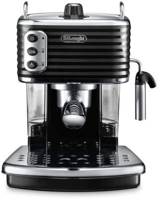 De'Longhi Scultura Traditional Barista Pump Espresso Machine, Coffee and Cappuccino Maker
