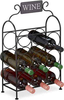 Decorative Wine Stand for Kitchen and Living Room