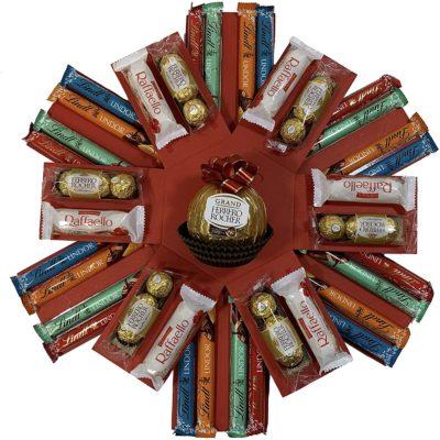 Ferrero & Lindt Chocolate Explosion Gift Hamper
