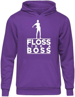 Floss Like a Boss Hooded Sweater