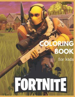 Fortnite Colouring Book