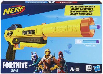 Fortnite Silent Pistol Nerf Elite Dart Blaster with Detachable Barrel