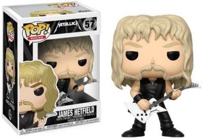 Funko 13806 POP! Rocks - Metallica James Hetfield Vinyl Figure