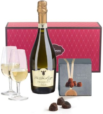 Hay Hampers Prosecco & Chocolate Truffles Gift