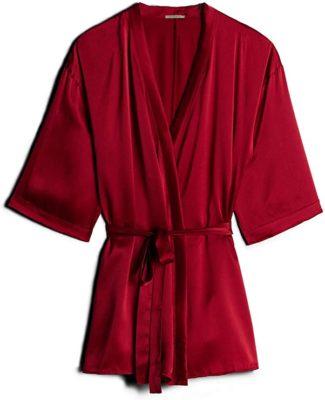 Intimissimi Womens Silk Kimono