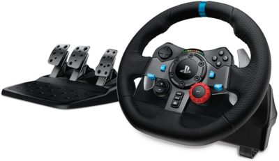 Logitech G29 Driving Force Racing Wheel and Floor Pedals
