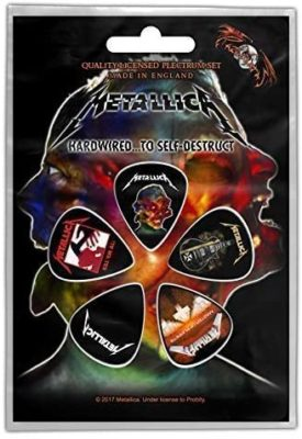 Metallica Hardwired Guitar Plectrums