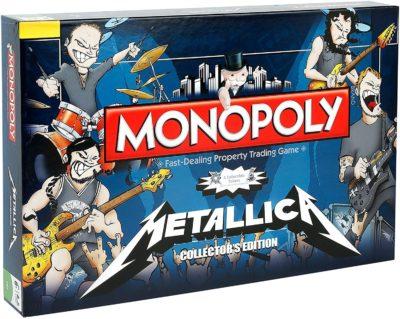 Metallica Monopoly Board Game