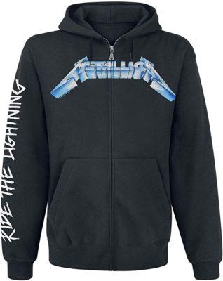 Metallica Ride The Lightning Mens Hoodie