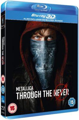 Metallica Through the Never Blu-ray