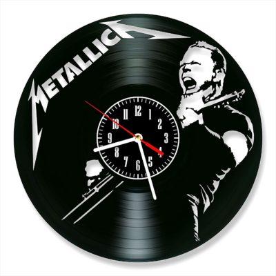 Metallica Vinyl Wall Clock