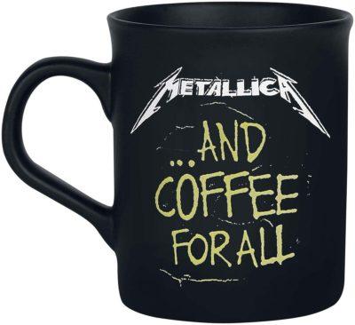 Metallica and Coffee for All Coffee Mug