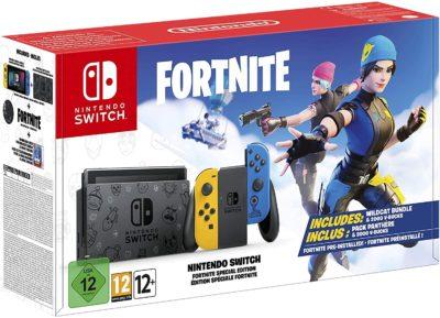 Nintendo Switch - Fortnite Edition