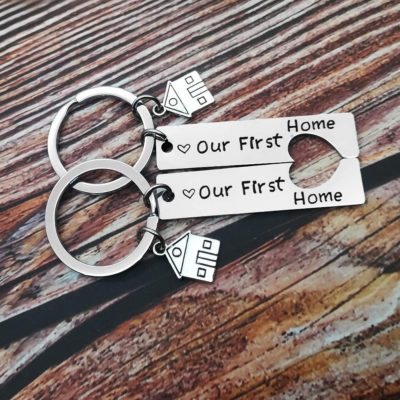Our First Home Keyrings