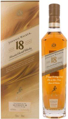 Personalised Johnnie Walker 18 Year Old Whisky
