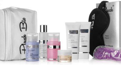 Plush luxury BIO cosmetics Home SPA set