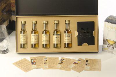 Regions of Scotland Whisky Tasting Set gift box