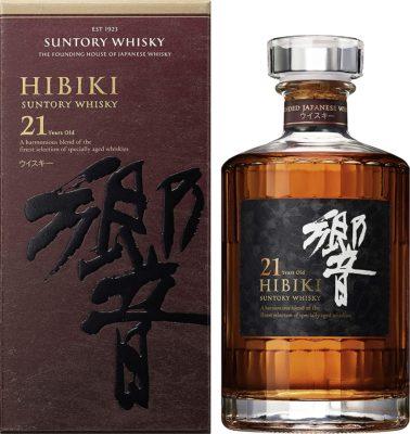 Suntory Hibiki 21 Year Old Japanese Whisky