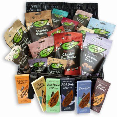 The Raw Chocolate Company Hamper - Organic Vegan Chocolate
