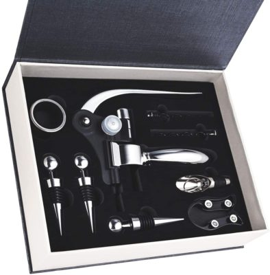 Wine Accessories Gift Set with Box