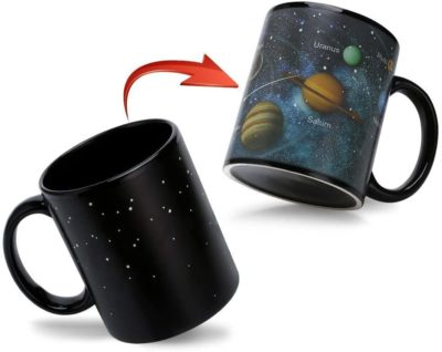 Magic Solar System Heat Sensitive Coffee Cup