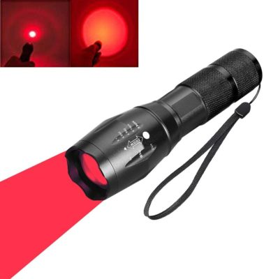 Red Light LED Torch for astronomy